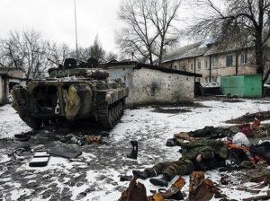 Российские надежды на деньги и славу умирают на украинских полях сражений