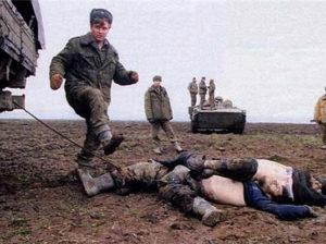 Говорите чеченские боевики резали головы? А вот что делали русские солдаты