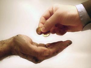 Достоинства и плоды милостыни