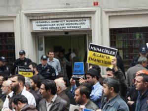О положении части беженцев из Чечни и других мусульман в Турции