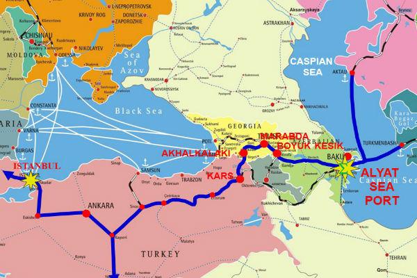 Китай вытесняет Россию из Южного Кавказа